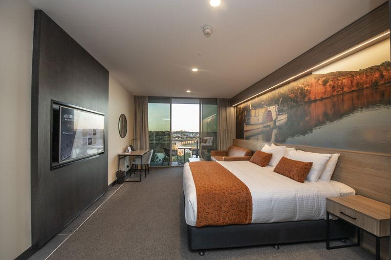 Riverside Balcony Room